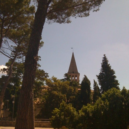 Photo taken at Tempio di San Fortunato by Elisa P. on 6/13/2012