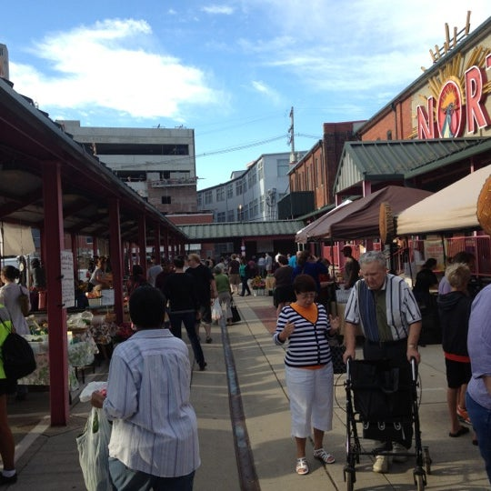Photo taken at North Market by Bethia W. on 8/18/2012