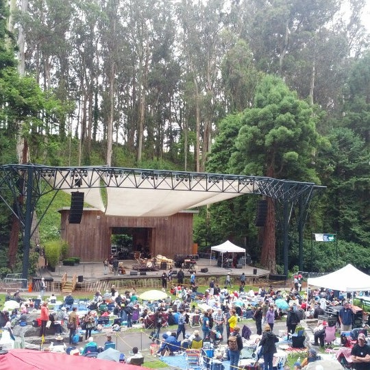 Photo taken at Sigmund Stern Grove by Nat W. on 7/1/2012