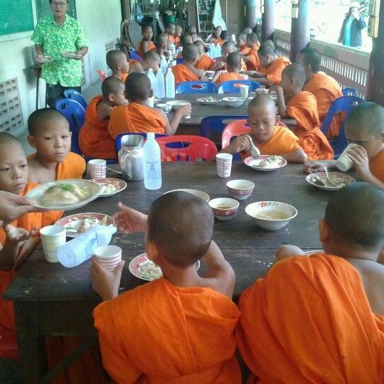 Photo taken at วัดดอนตูม บ้านโป่ง by Juniorkc P. on 4/7/2012