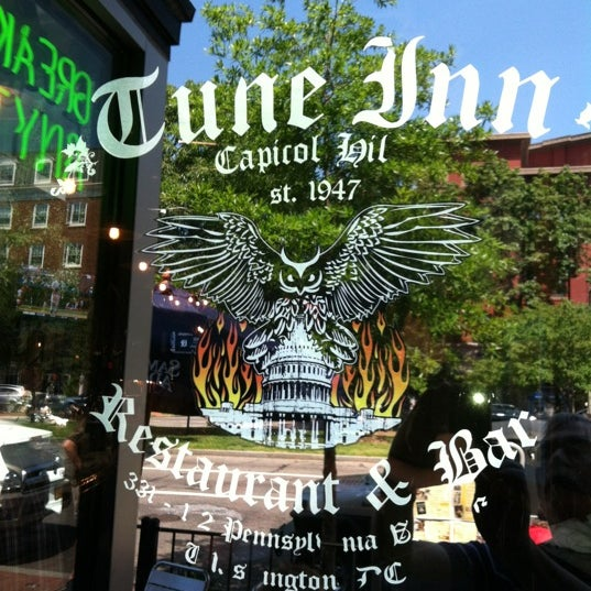 Photo taken at Tune Inn Restaurant & Bar by Tim C. on 5/19/2012