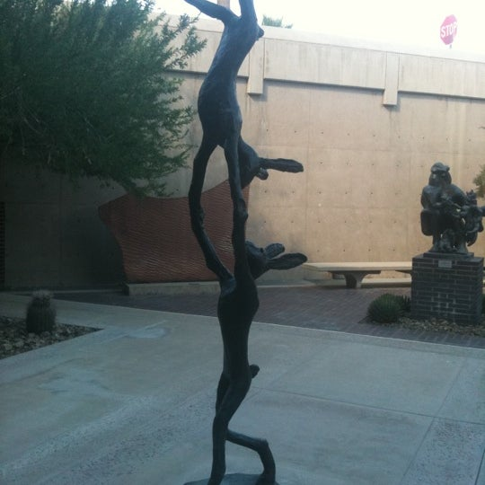 Photo taken at Palm Springs Art Museum by Lina on 9/23/2011