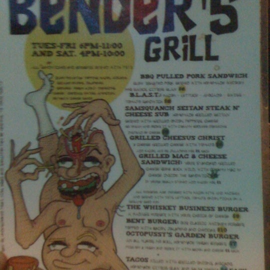 Photo taken at Bender's Bar & Grill by Rafael B. on 2/3/2011