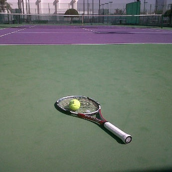 Photo taken at Qatar Tennis Federation by Frederick A. on 10/7/2011