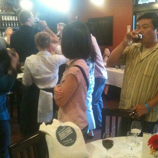 Photo taken at Scuola di Pizza by Caroline O. on 7/15/2012