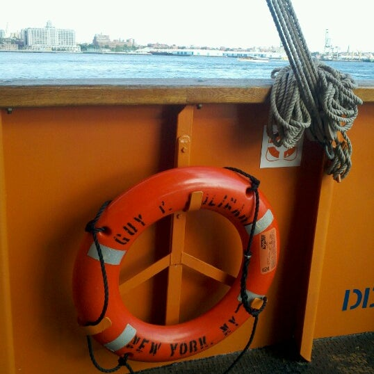 Photo taken at Staten Island Ferry Boat - Guy V. Molinari by Dan H. on 7/21/2012