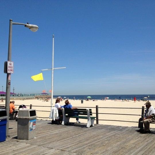 Photo taken at Point Pleasant Beach Boardwalk by Sandy K. on 5/19/2012