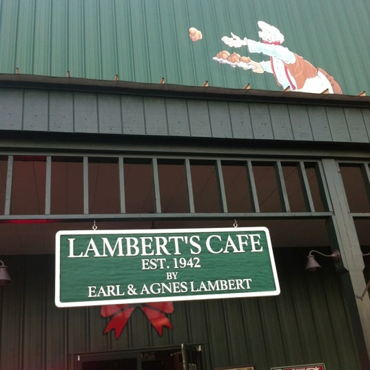 Photo taken at Lambert's Cafe by Samuel T. on 7/28/2012