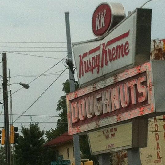 Photo taken at Krispy Kreme Doughnuts by Michael V. on 8/4/2012