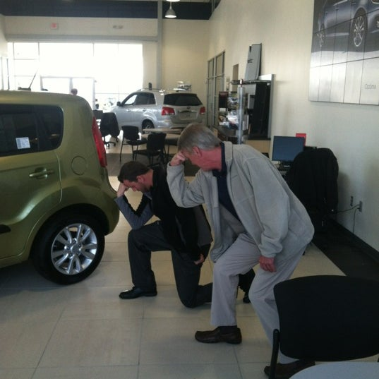 Photo taken at JT's Kia by Justin H. on 1/27/2012