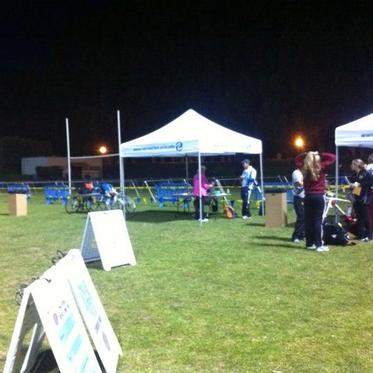 Photo taken at UCLA Intramural Field by Brandon C. on 3/4/2012