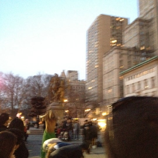Photo taken at Grand Army Plaza by Joseph H. on 3/3/2012
