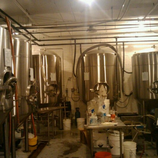 Photo taken at Argus Brewery by Michael C. on 1/4/2012