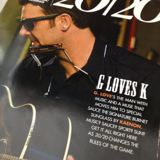 Photo taken at 20/20 Magazine by Julie Z. on 4/11/2012