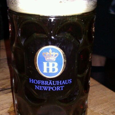 Photo taken at Hofbräuhaus Newport by Gary S. on 11/26/2011