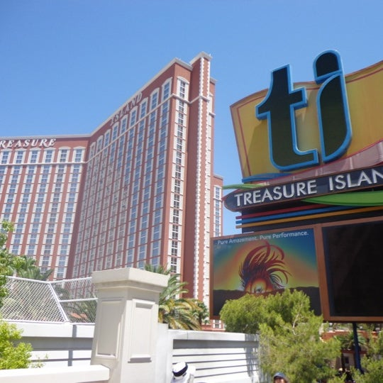 Photo taken at Treasure Island - TI Hotel & Casino by Brian R. on 6/21/2012