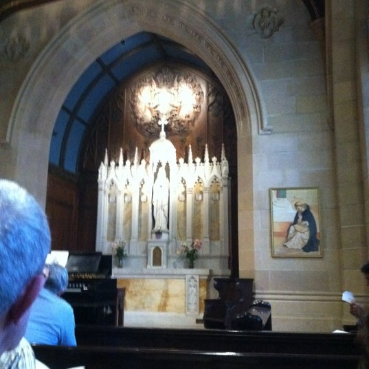 Photo taken at St. Dominic's Catholic Church by Phil J. on 6/9/2012