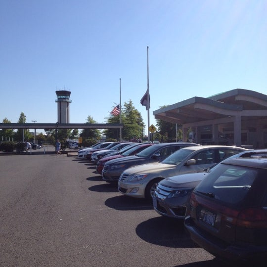 Photo taken at Eugene Airport (EUG) by Renee G. on 7/24/2012