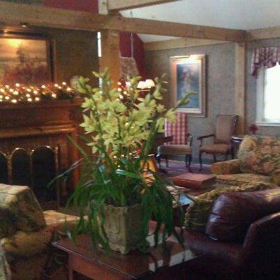 Photo taken at Bedford Village Inn by Rebecca B. on 12/8/2011