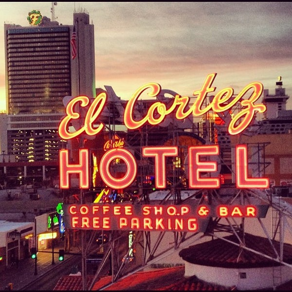 Photo taken at El Cortez Hotel & Casino by Anthony R. on 2/21/2012