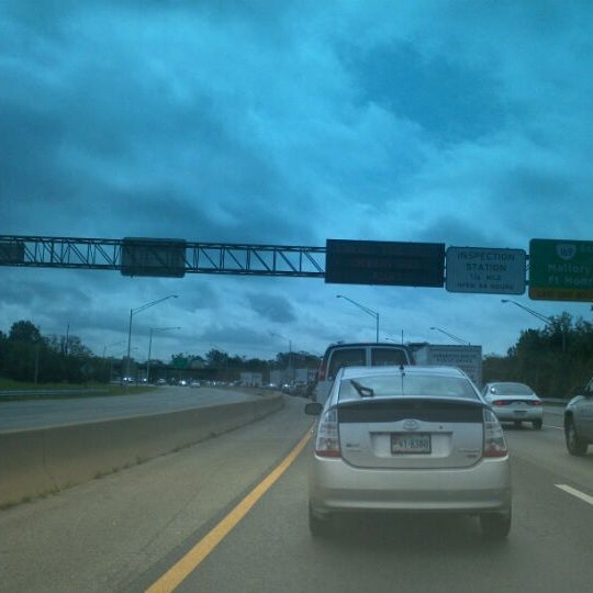 Photo taken at HRBT by Toni W. on 9/27/2011