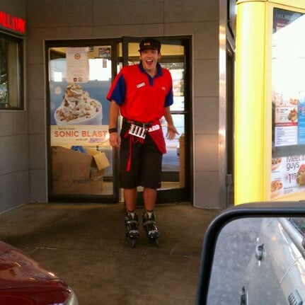 Photo taken at SONIC Drive In by Douglas R. on 9/9/2011