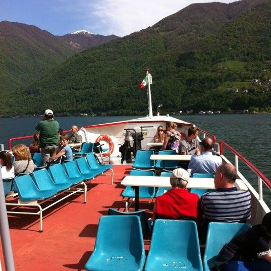 Photo taken at Lago di Lugano by Gianpaolo Z. on 4/28/2012