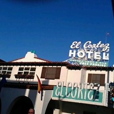 Photo taken at El Cortez Hotel & Casino by Cisco G. on 5/9/2012