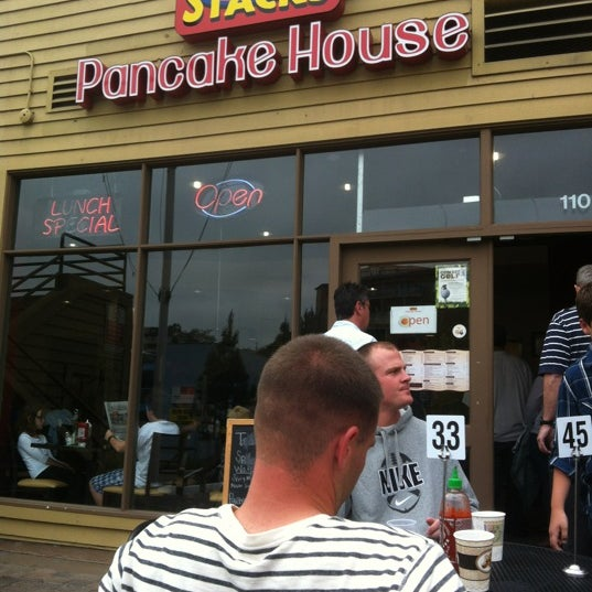 Photo taken at Stacks Pancake House by Bonnie A. on 4/29/2012