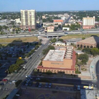 Marriott Riverwalk Pool Downtown San Antonio San
