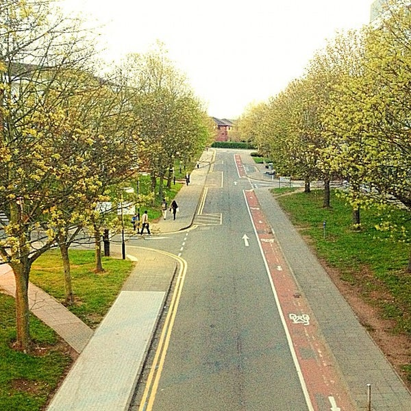 Photo taken at University of Warwick Library by Kenny W. on 4/13/2012