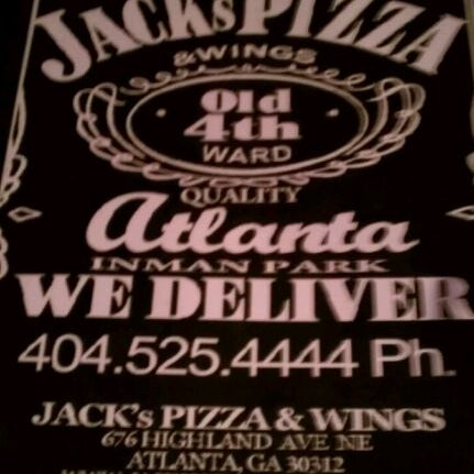 Photo taken at Jack's Pizza & Wings by Freddie F. on 9/25/2011
