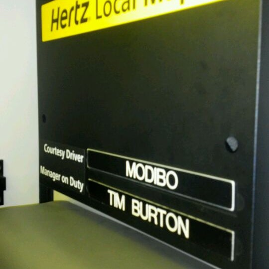 Denver airport hertz car return address 10
