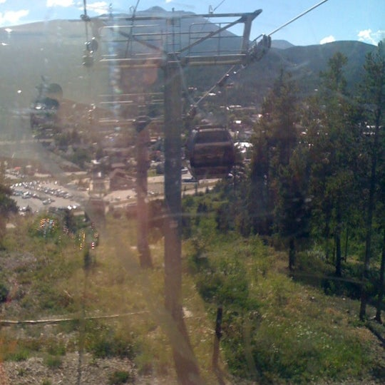 Photo taken at Breck Connect Gondola by jaqi v. on 8/27/2011
