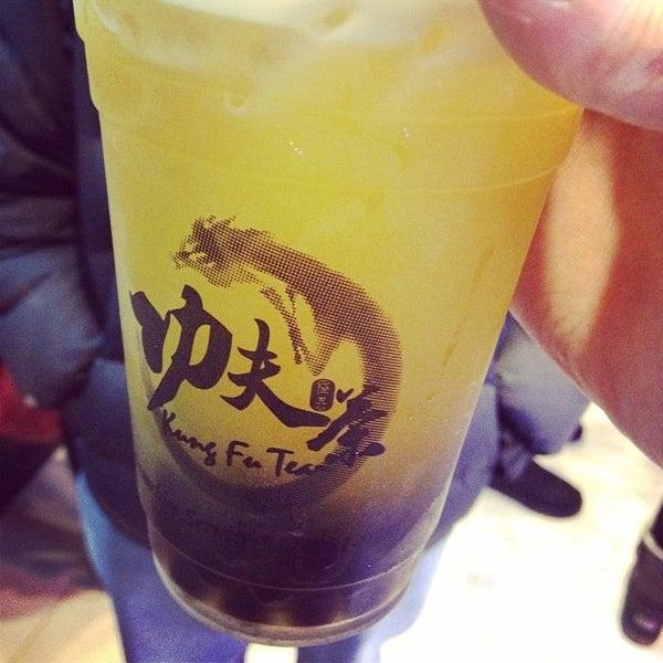 Photo taken at Kung Fu Tea 功夫茶 by Don K. on 1/29/2012