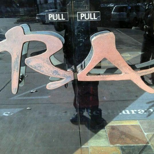 Photo taken at RA Sushi by Alex G. on 1/1/2012
