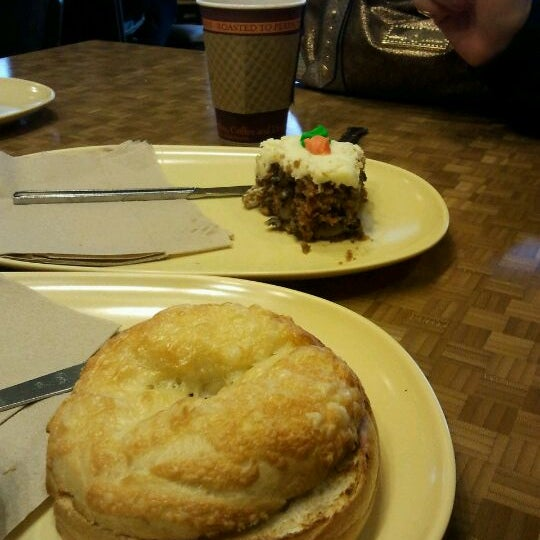 Photo taken at Panera Bread by Andy T. on 1/15/2012