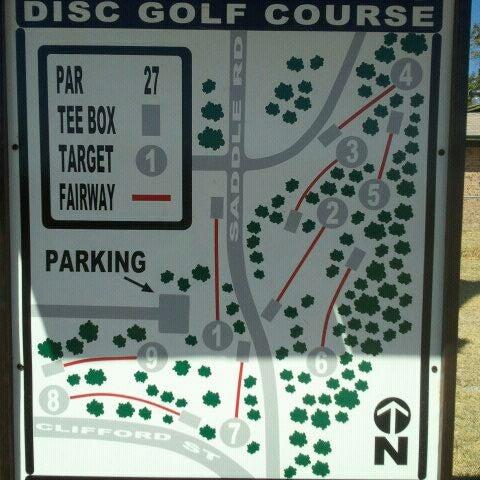 Photo taken at Saddle Hills Disc Golf Course by Casondra T. on 9/5/2011