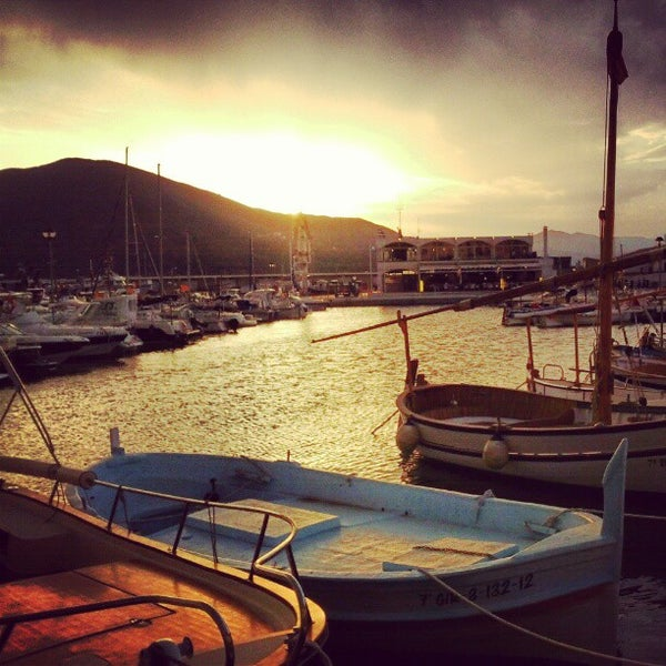 Photo taken at Port de la Selva by Angel I. on 8/11/2012