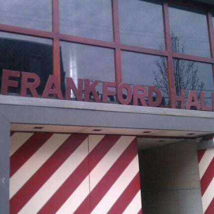 Photo taken at Frankford Hall by Clayface A. on 3/13/2012