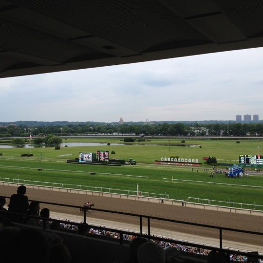 Photos At Belmont Park Racetrack Elmont Ny
