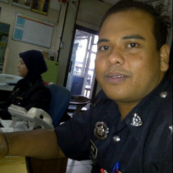 Photo taken at Balai Polis Kg Tawas by Hafez M. on 12/23/2011