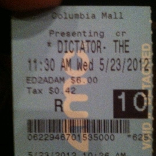 Photo taken at AMC Columbia 14 by Lem P. on 5/23/2012