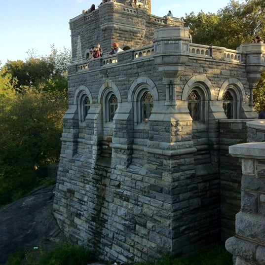 Photo taken at Belvedere Castle by Kevin R. on 10/22/2011