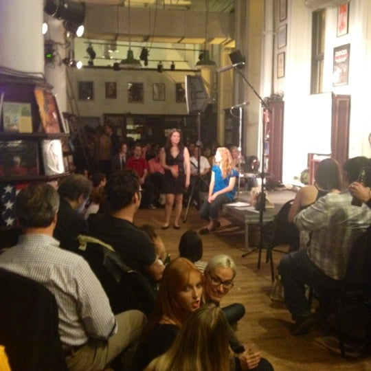 Photo taken at Housing Works Bookstore Cafe by Helen Z. on 3/13/2012