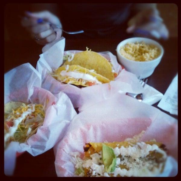 Photo taken at Tia Cori's Tacos by Patrick R. on 6/21/2012