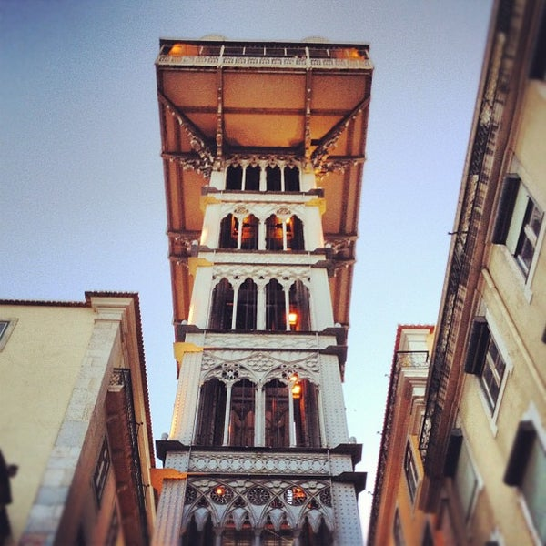 Photo taken at Elevador de Santa Justa by Aleksandra N. on 6/24/2012