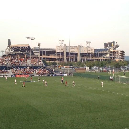 Photo taken at Jeffrey Field by Steve C. on 8/24/2012