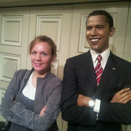 Photo taken at Madame Tussauds by Vladan C. on 11/5/2011
