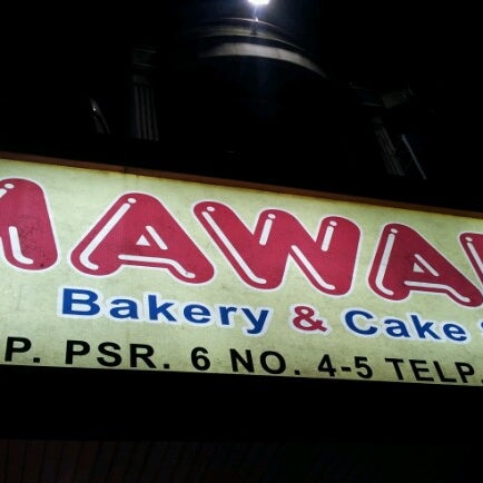 Photo taken at Mawar Bakery and Cake Shop by Cak W. on 7/11/2012